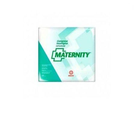 Indas Maternity compresa tocológica de celulosa 25uds: Productos de Parafarmacia Centro