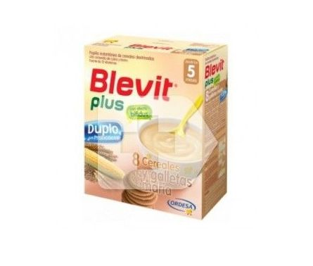 Blevit plus 8 cereales y galleta María : Productos de Parafarmacia Centro