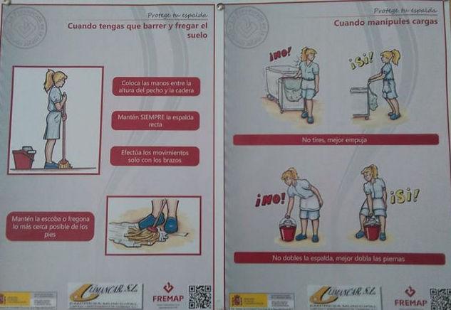 Fregar el suelo y recoger ropa sucia, una labor solo de mujeres según el tablón público del Ayuntamiento de Carmona
