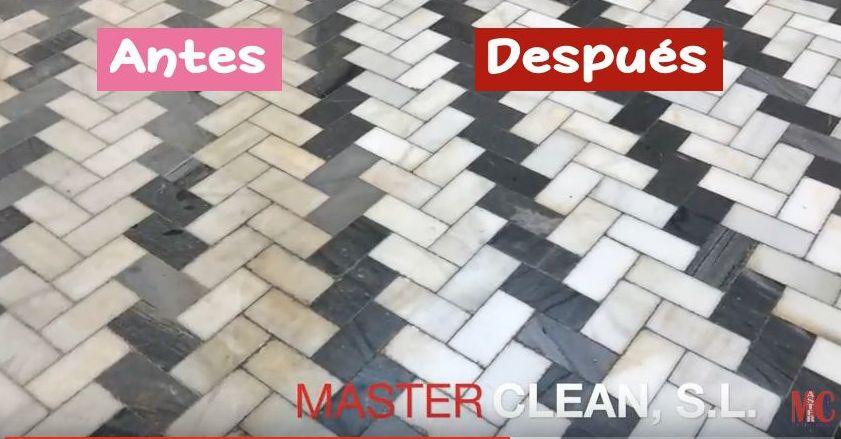 Decapado de suelo en un Palacio de Sevilla