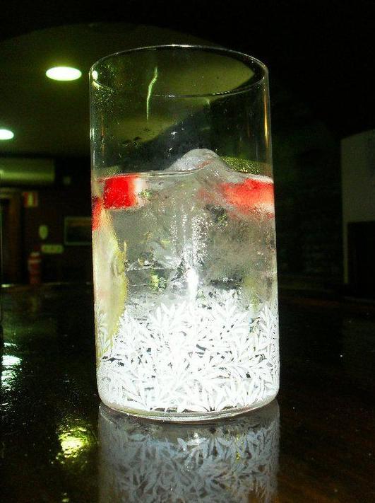 Gin Tonic con fresas