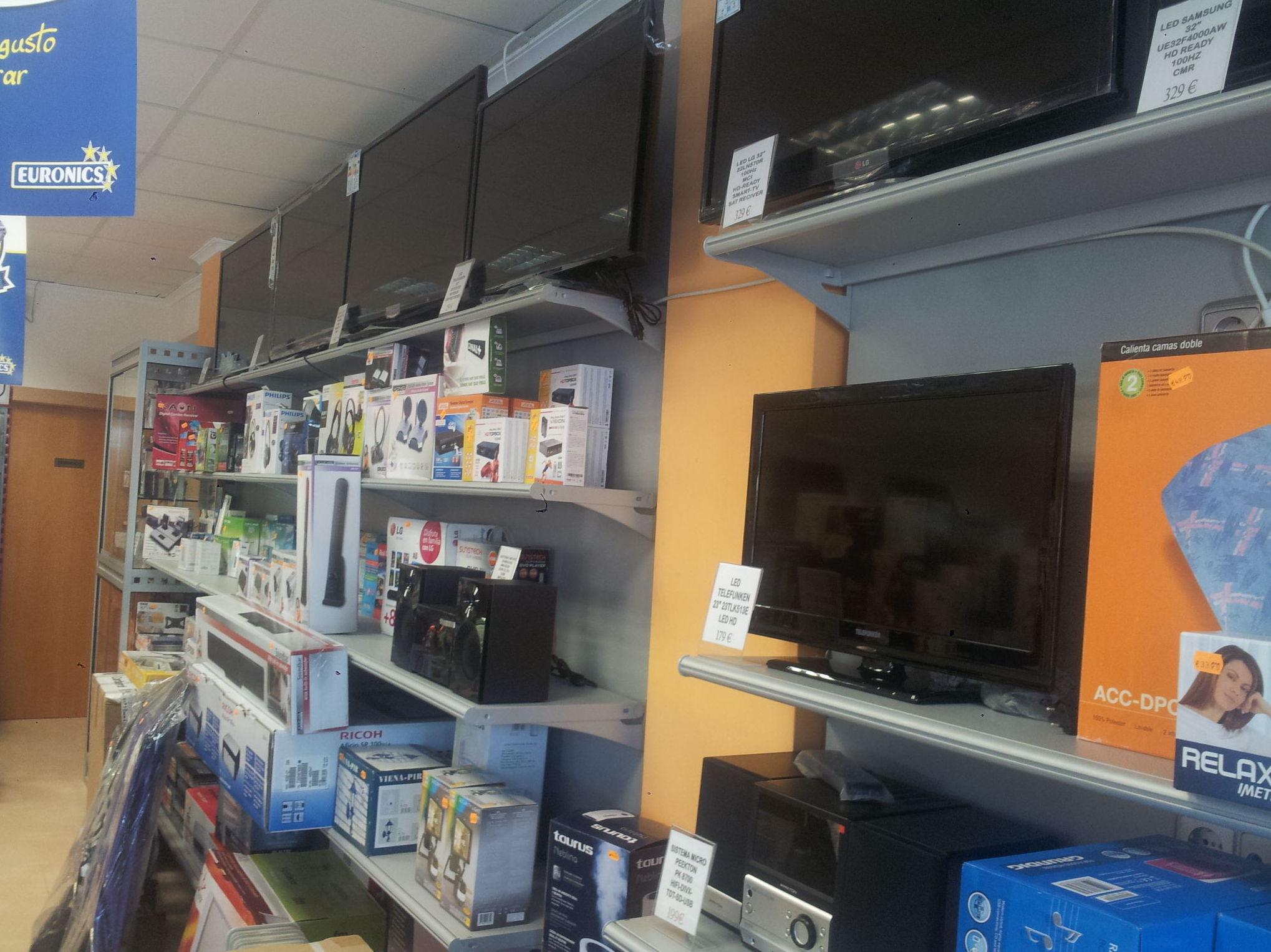 venta de televisores Rojales