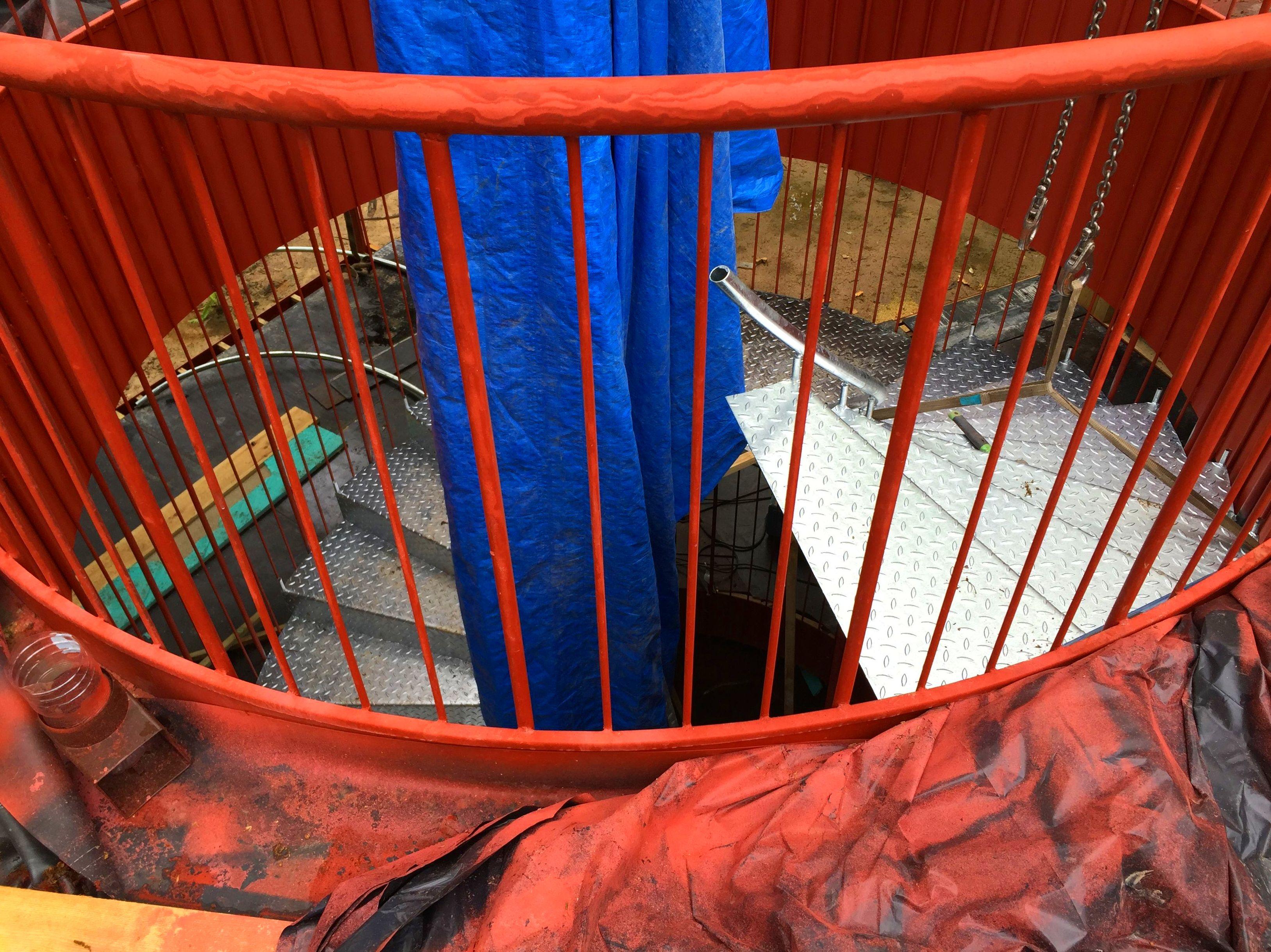 escaleras metalicas en asturias