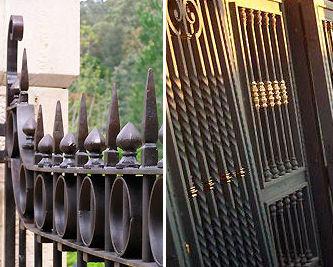 Carpintería en hierro, rejas, puertas...