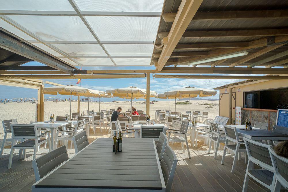 Terraza interior Restaurante La Tasca