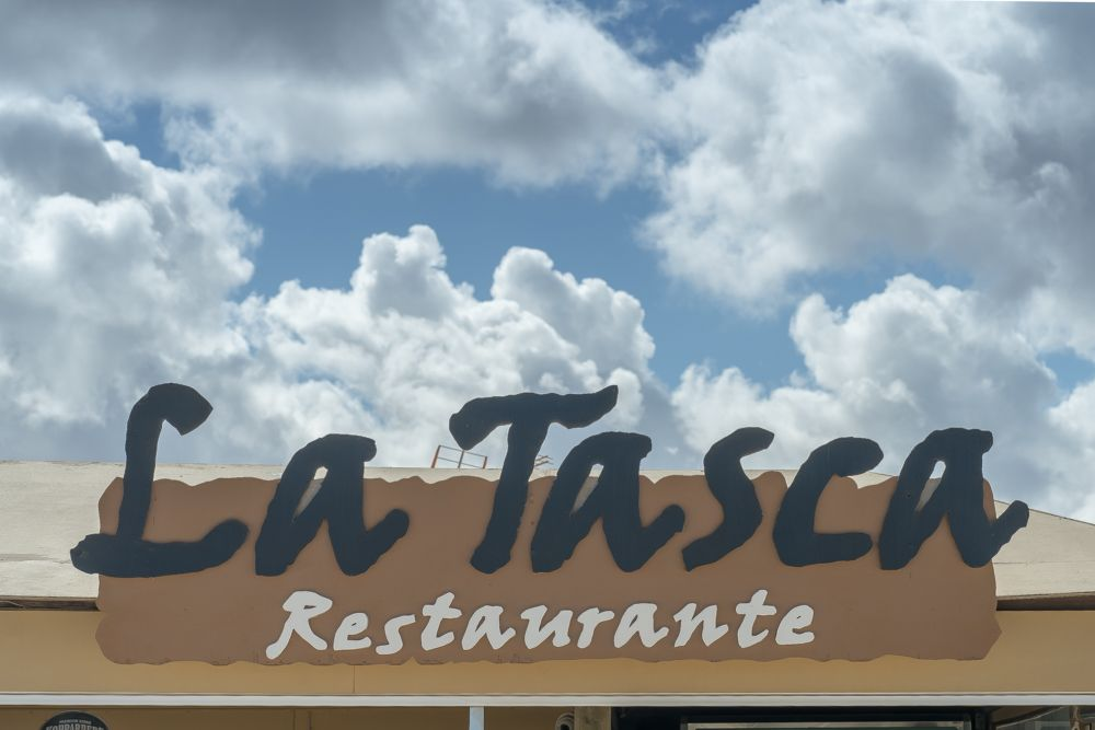 Rótulo Restaurante La Tasca