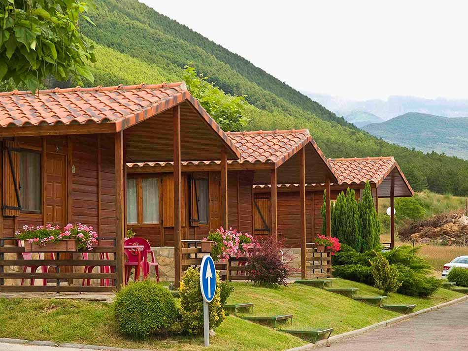 Bungalows: 1 o 2 personas: Camping de Camping Valle De Tena