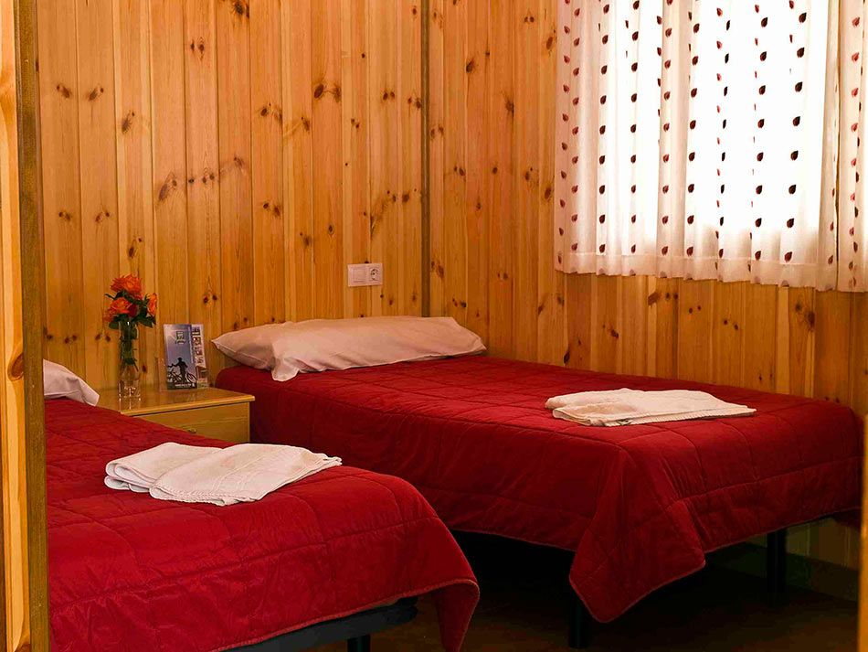 Habitaciones para 2 personas: Camping de Camping Valle De Tena
