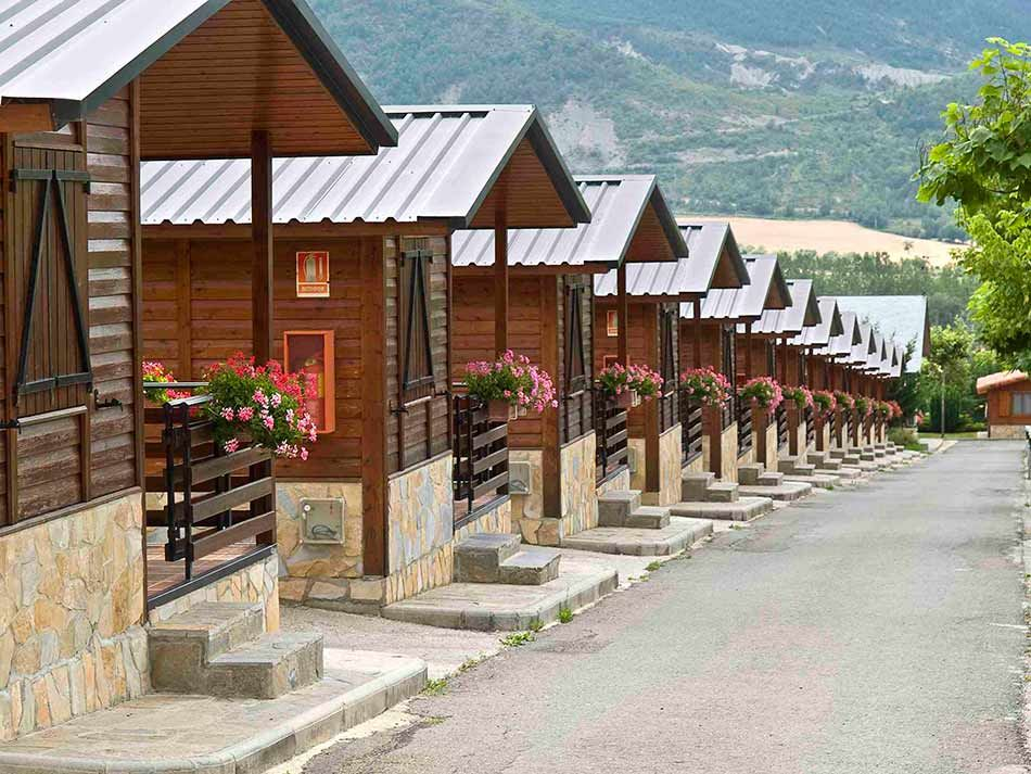 Bungalows: 3 o 4 personas: Camping de Camping Valle De Tena