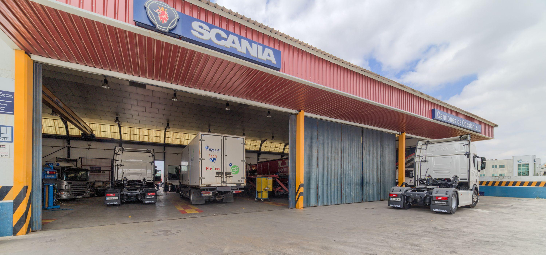Taller mecánico para vehículos industriales en Albacete