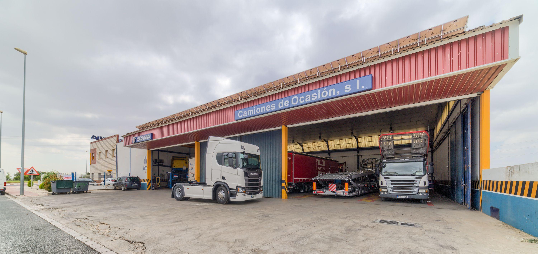 Servicio de camiones las 24h en Albacete