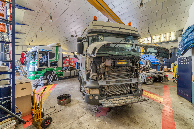 Taller de vehículos industriales en Albacete
