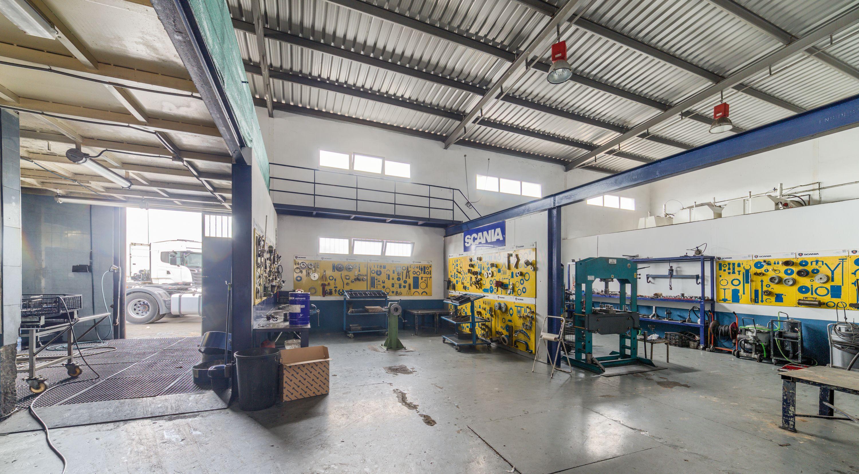 Taller oficial de las marcas Scania, Kässbohrer en Albacete