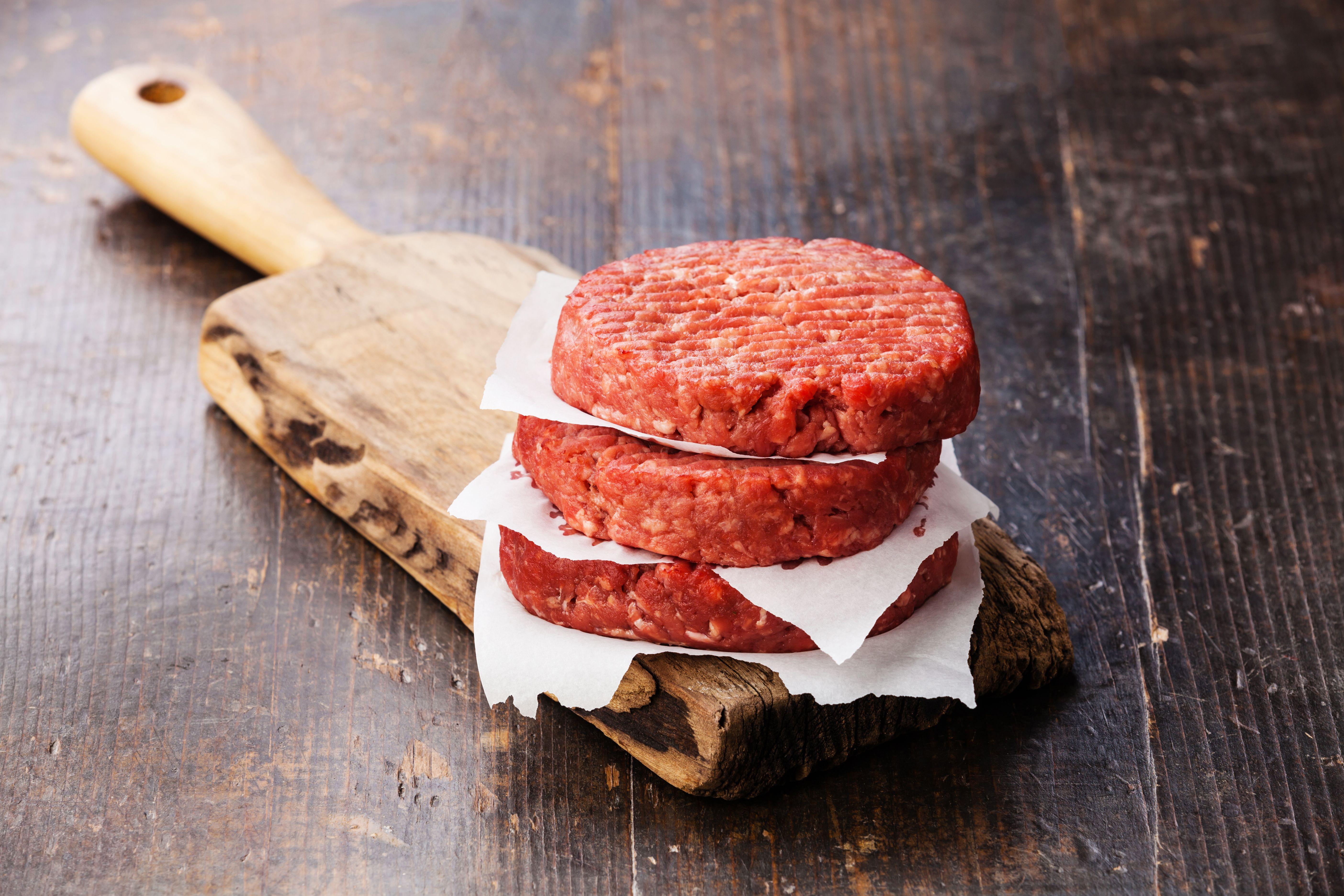 Hamburguesas de carne