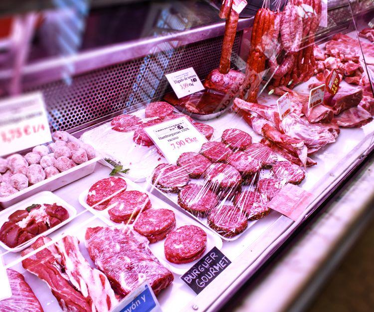 Carnicería con especialidad en carne de cordero lechal