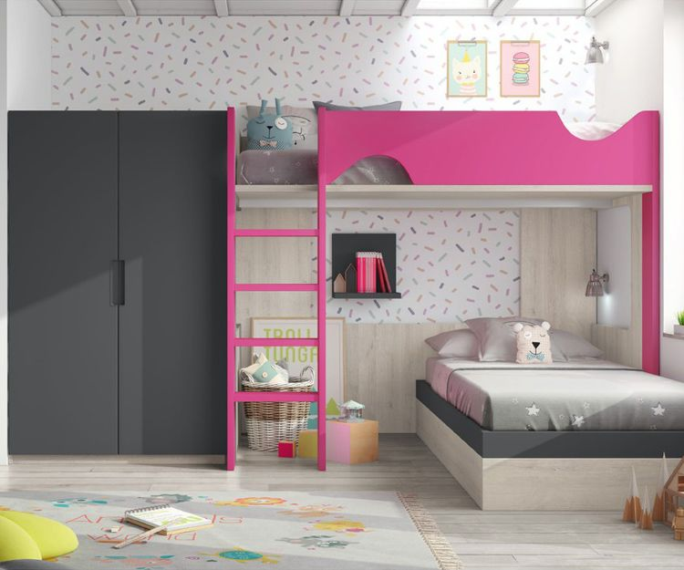 Dormitorios juveniles con literal