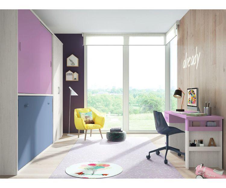 Dormitorios juveniles abatibles