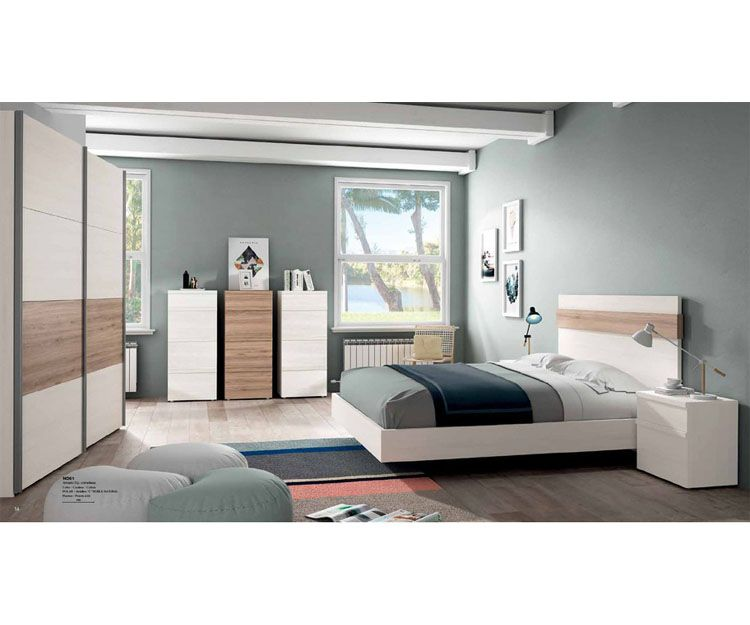 Dormitorios de matrimonio modernos