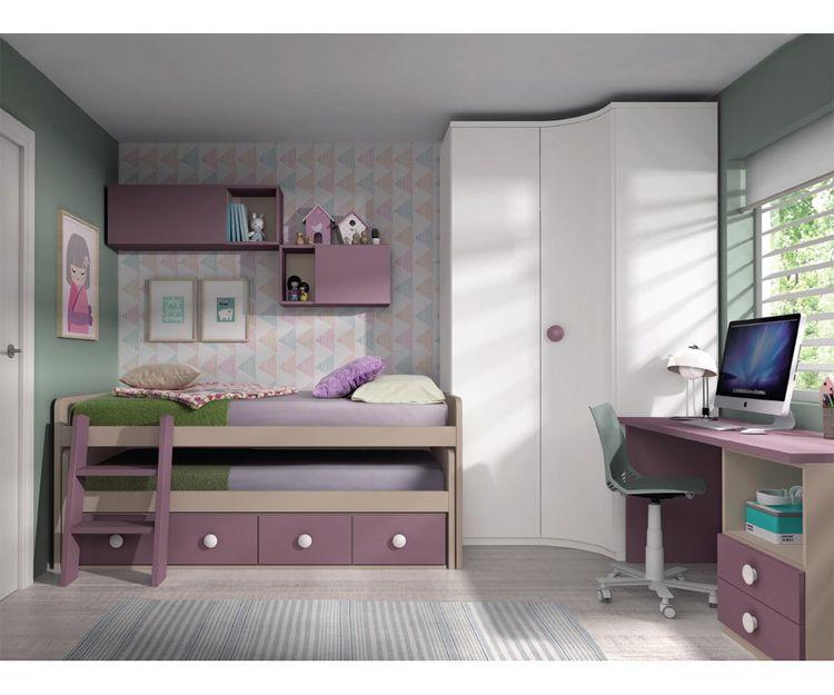 Dormitorios juveniles compactos