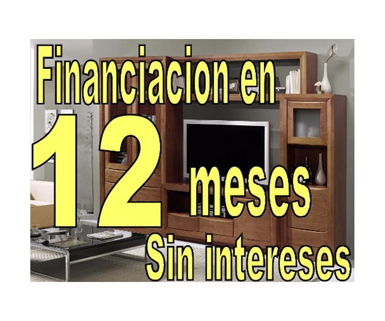 Financiación en 12 meses sin intereses