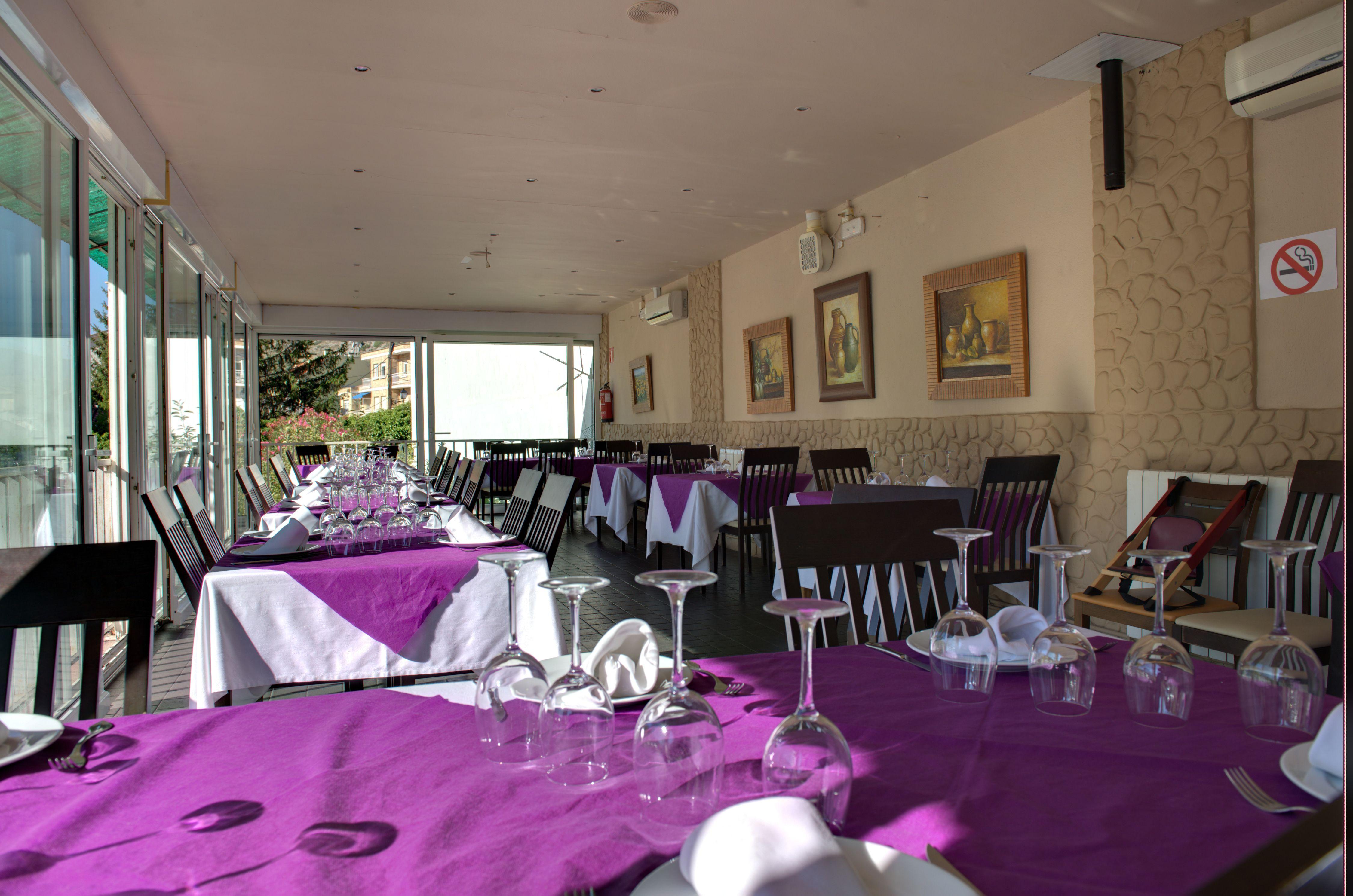Servicio rápido y cuidado en nuestro restaurante de Arnedillo