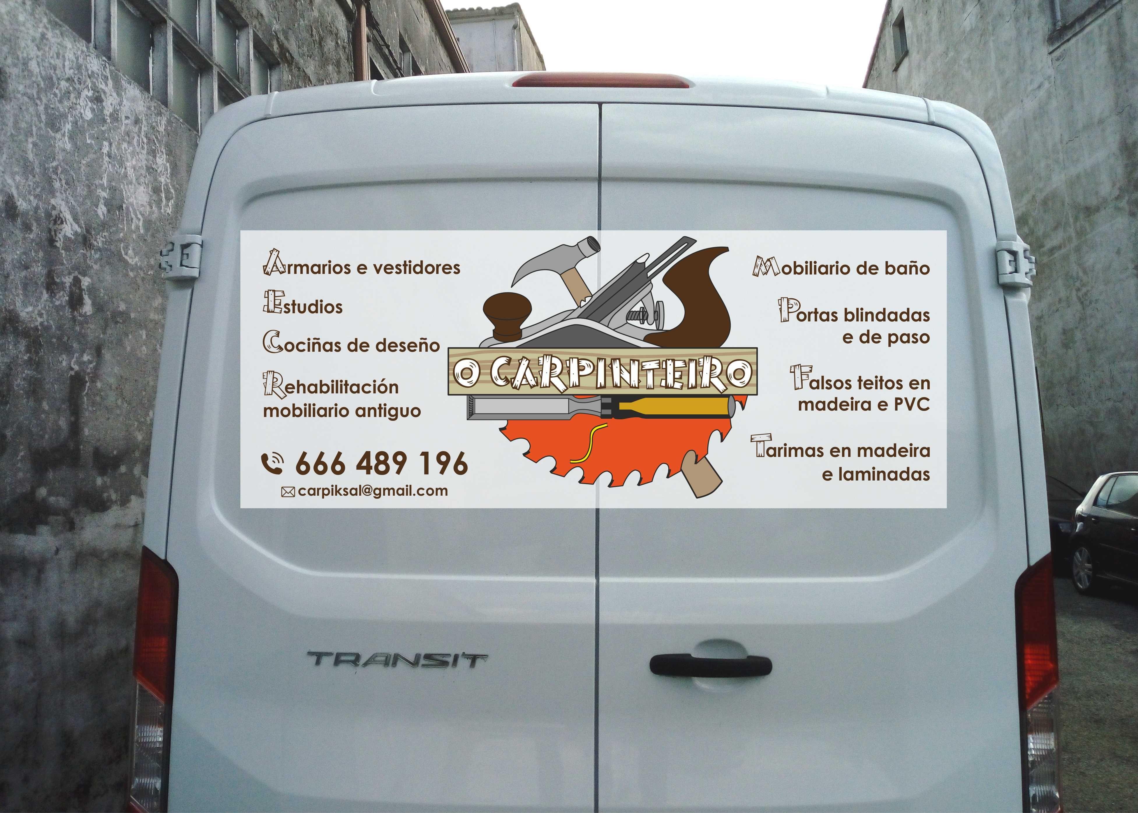 Rotulación de vehículos: Servicios de Casal Pérez Centro de Impresión Digital