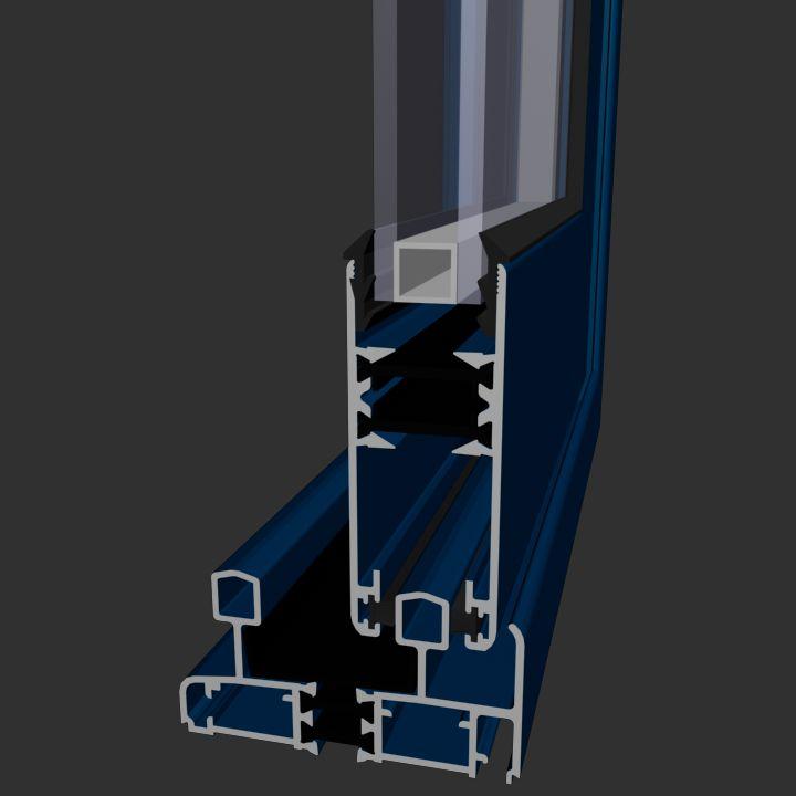 Corredera Aluminios Barcelona Alba 70 RPT: Productos de Catal Pur
