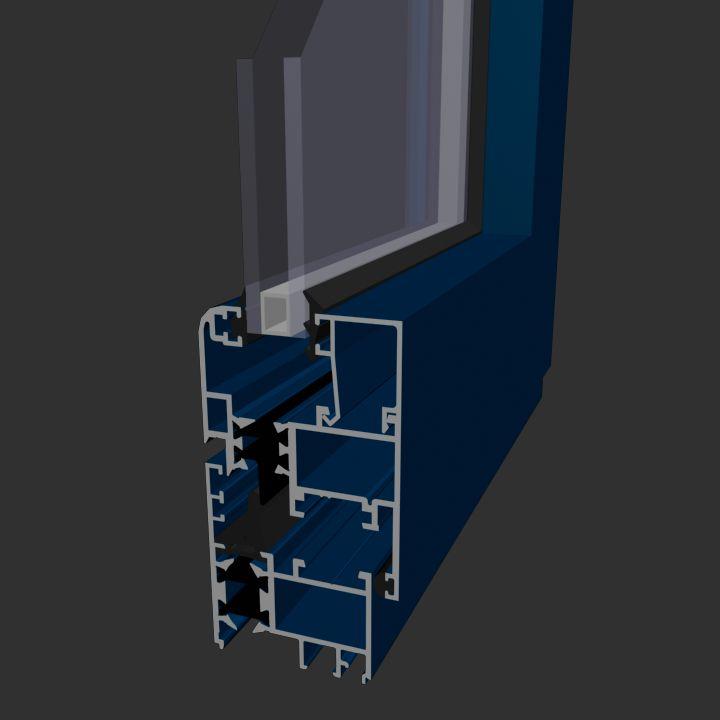 Ventana Aluminios Barcelona Alfil A45 RPT: Productos de Catal Pur