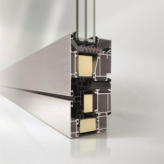 Ventana Schüco oscilobatientes verticales y horizontales: Productos de Catal Pur