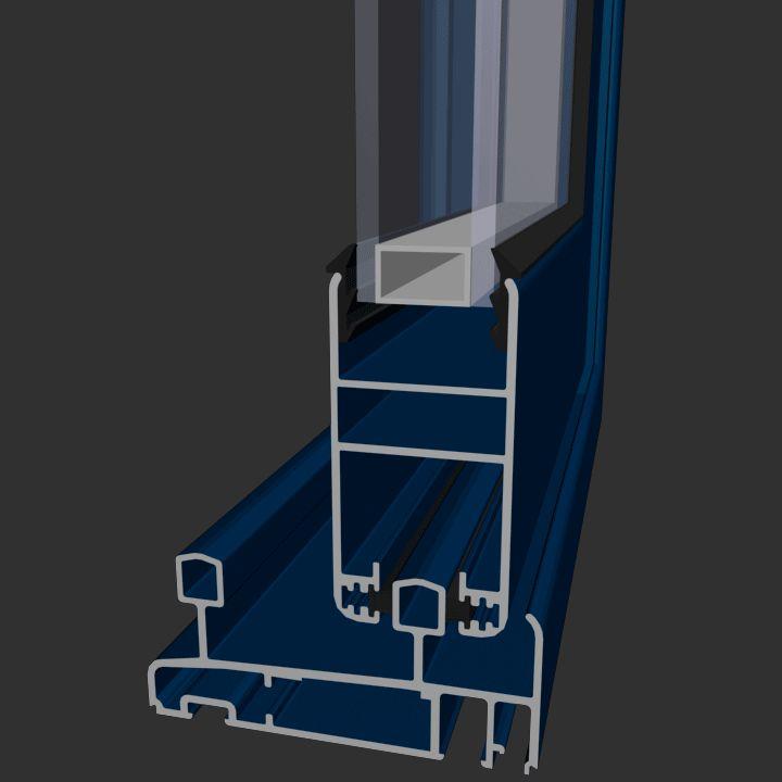 Corredera Aluminios Barcelona Alba 80: Productos de Catal Pur
