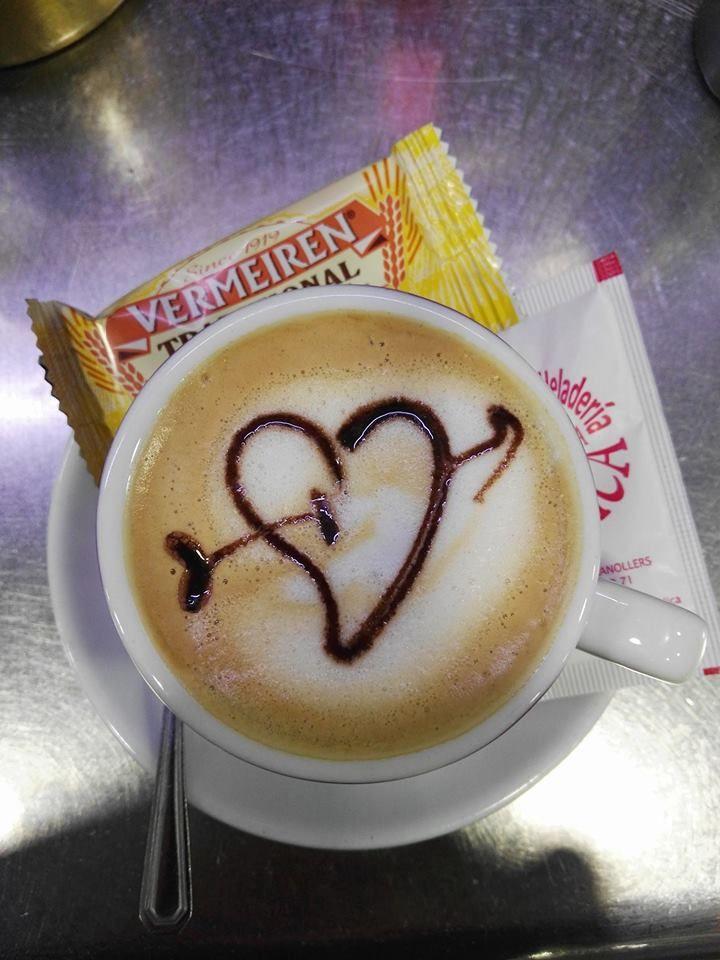 Cafés con mensaje