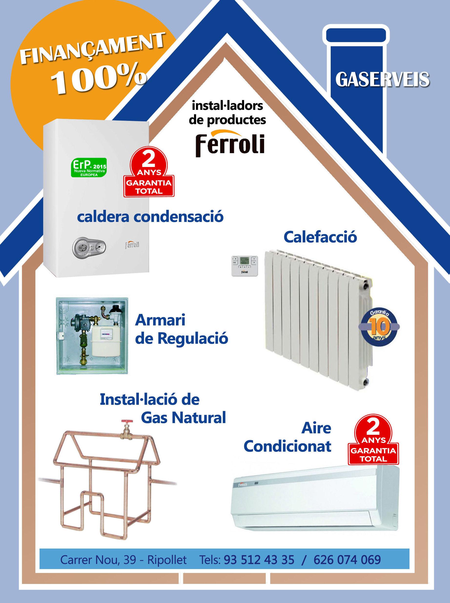 Gas Natural: Servicios de Gaserveis
