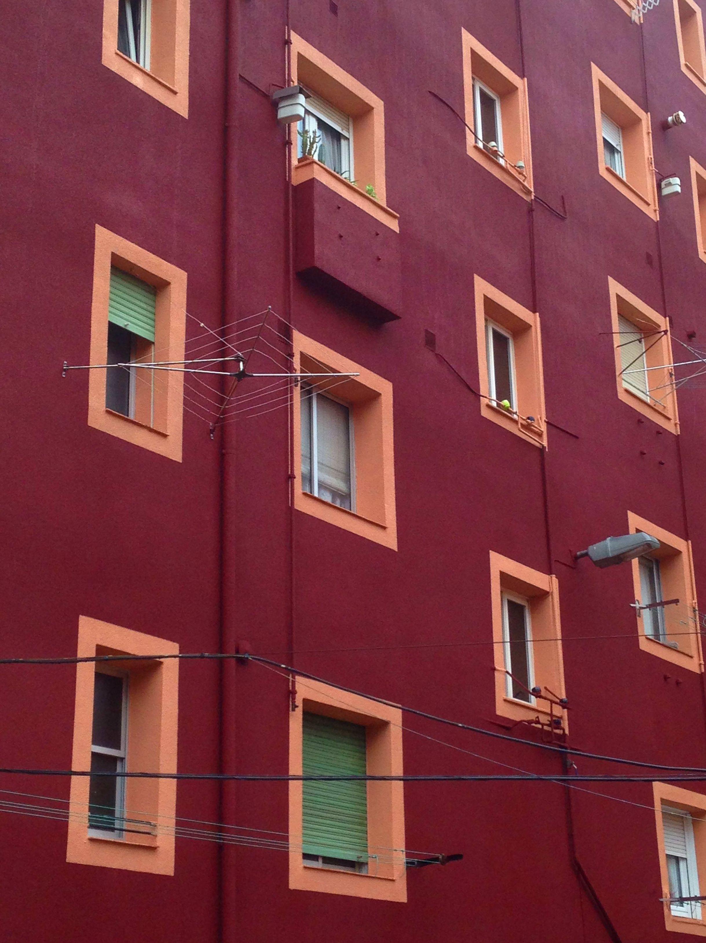 Revestimiento de fachada en Santander.