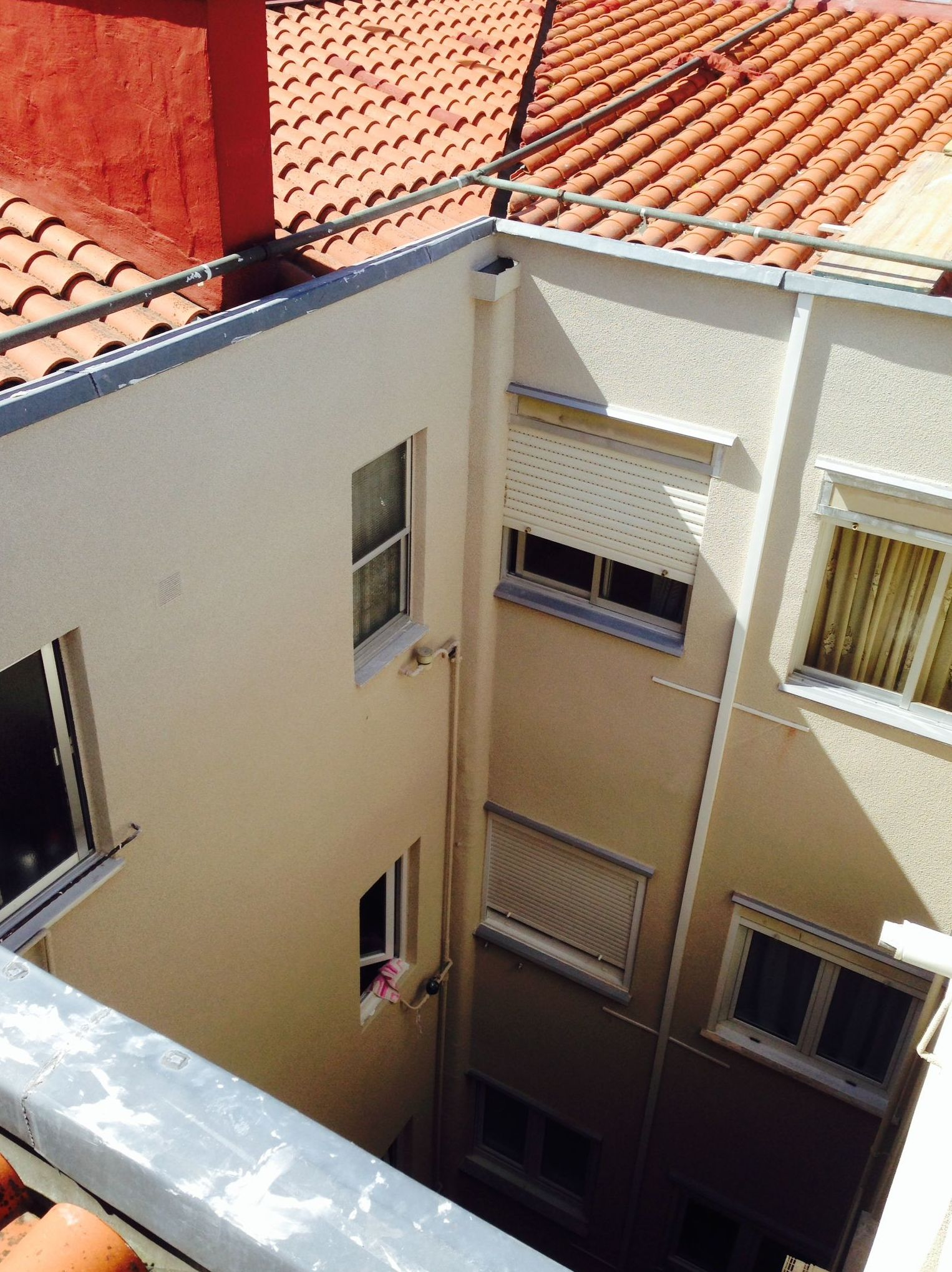 Fachadas exteriores, patios, traseras, principal, medianiles reparación impermeabilización