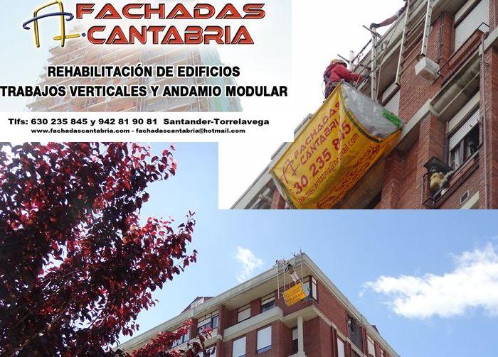 Rehabilitación de aleros en Torrelavega.