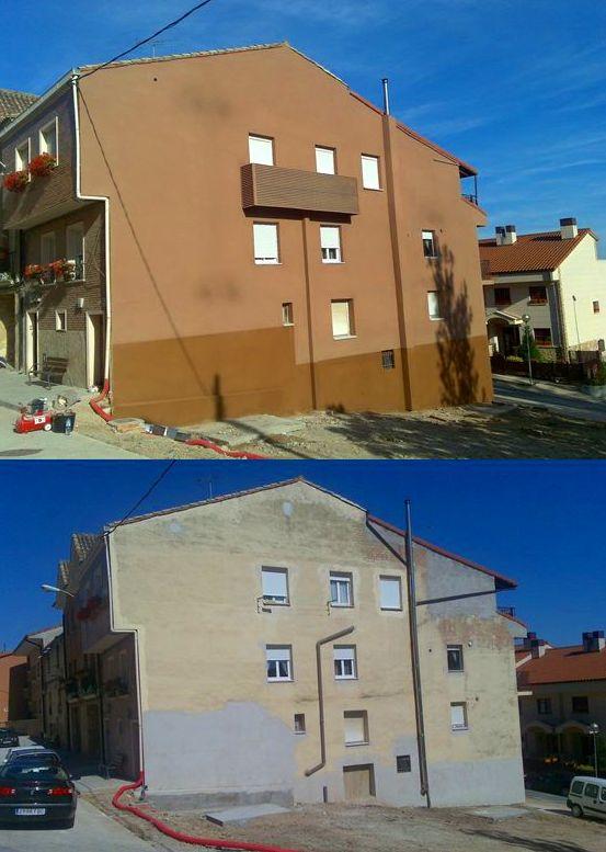 Sistema de aislamiento por el exterior de fachada.