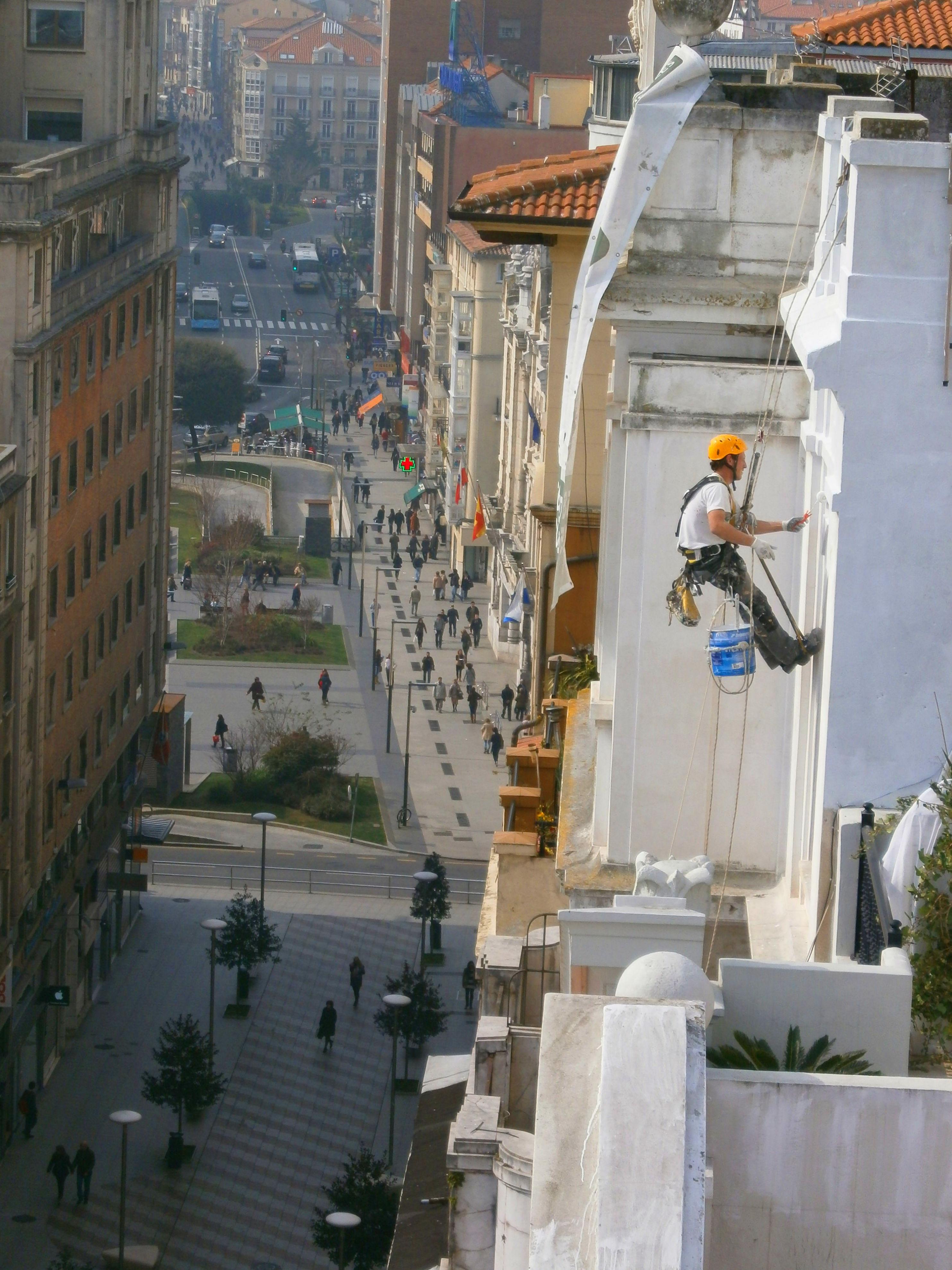Reparar fachada en Santander