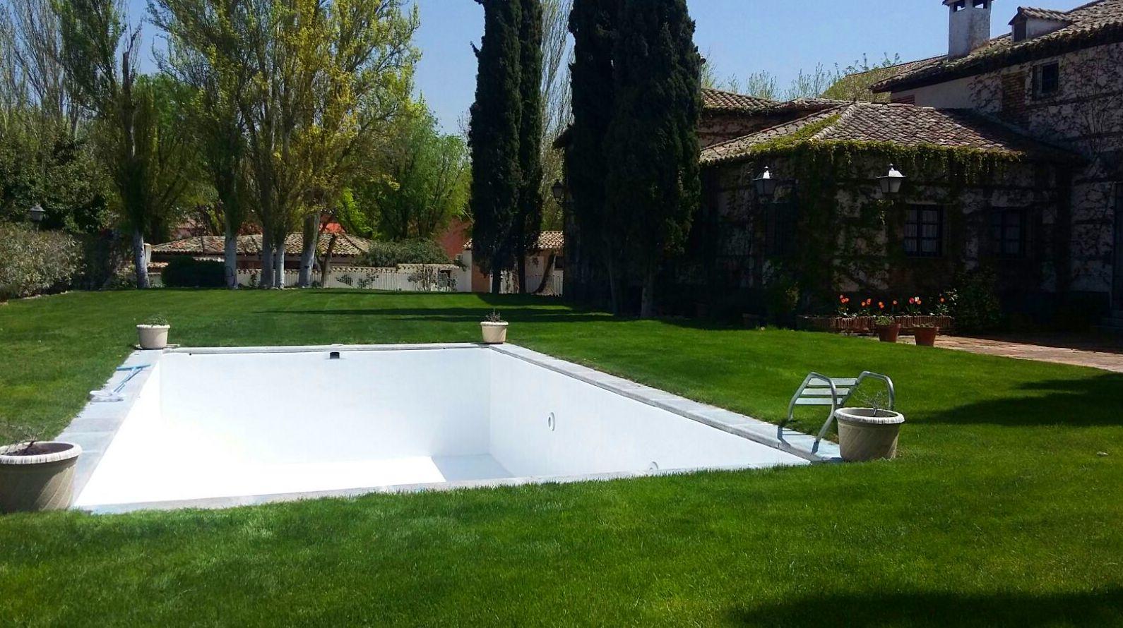 Rehabilitación de piscina privada
