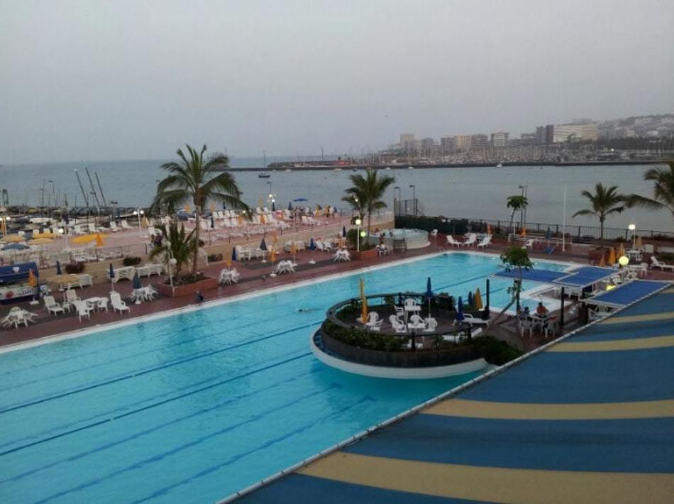 Rehabilitación piscina del Club náutico de Gran Canarias