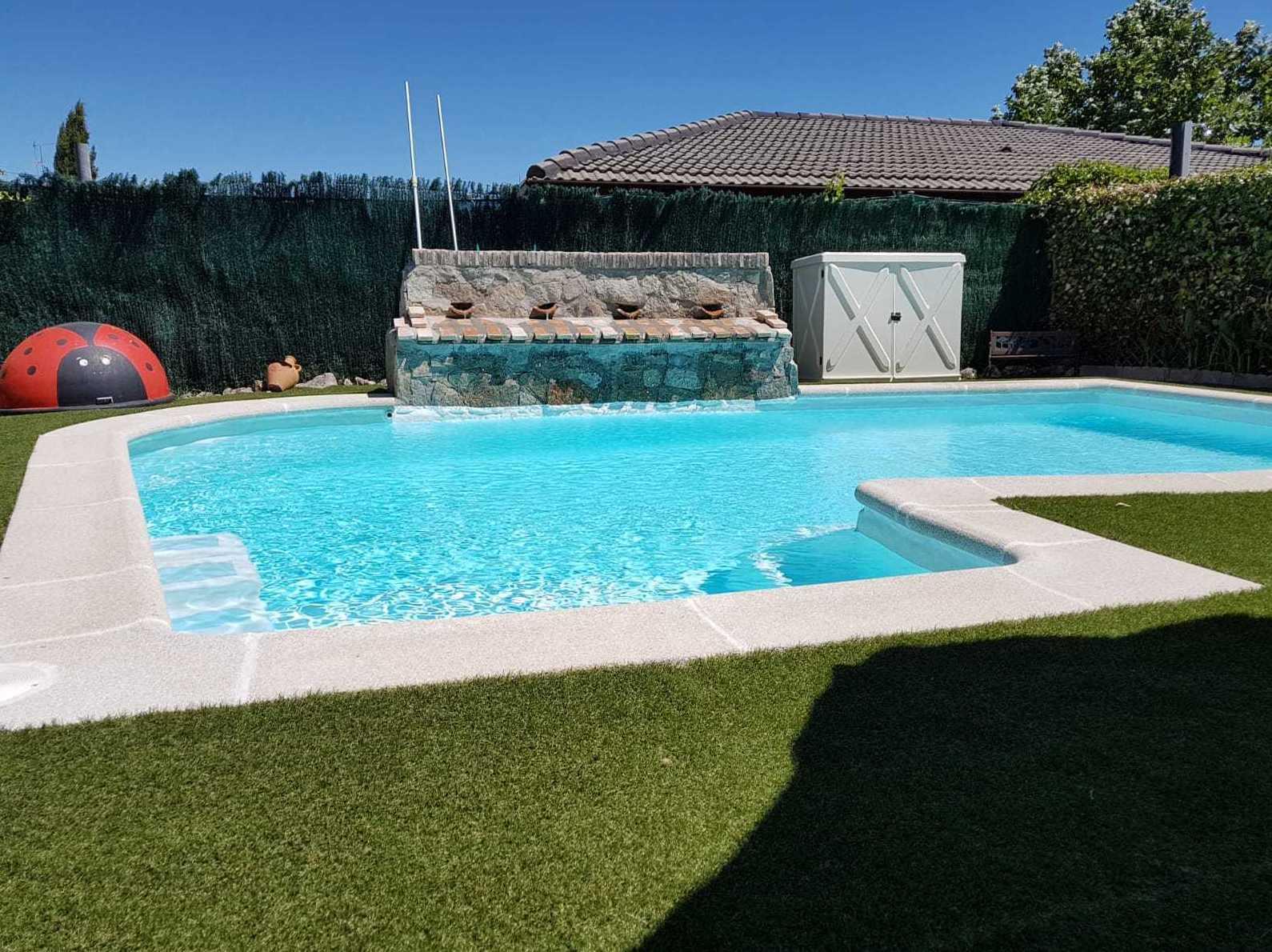 Foto 11 de Instalación de piscinas en Leganés | Lallana Pol
