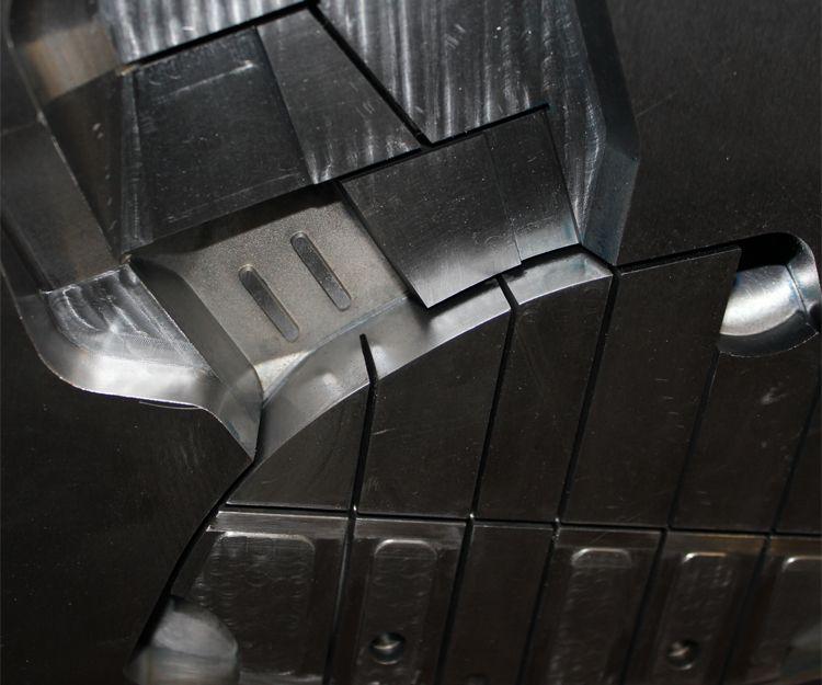 Avances mecánicos para la construcción de moldes