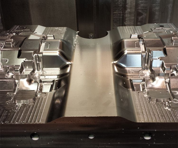 Diseño 3D de moldes