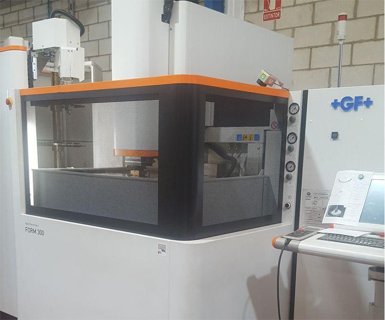 Fabricación de moldes por inyección