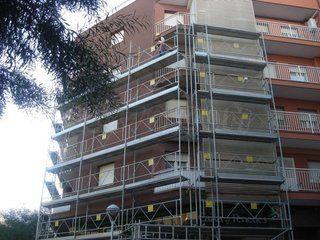 Restauración de fachadas en Cornellà