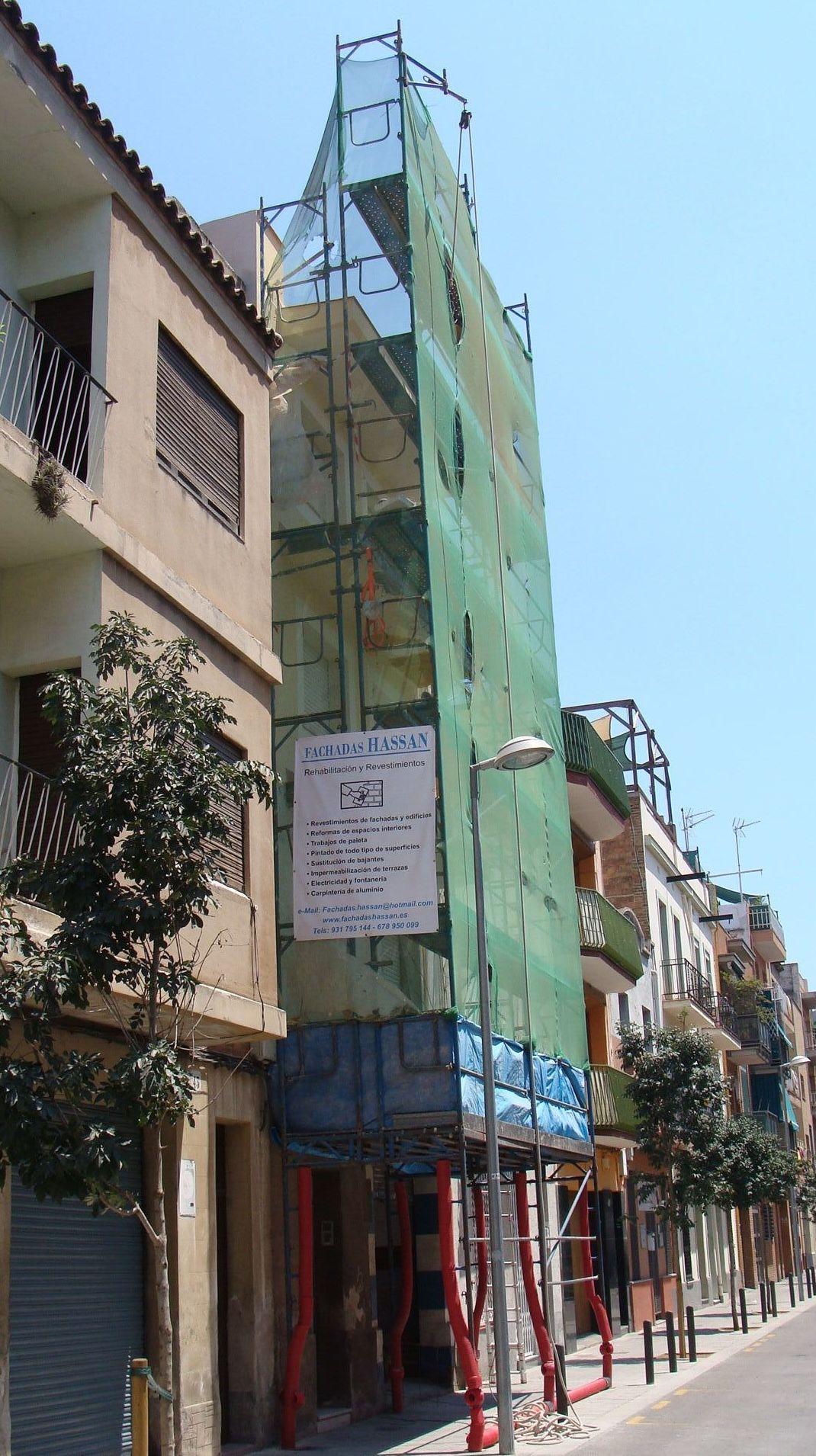 Reforma de fachadas en el Prat de LLobregat