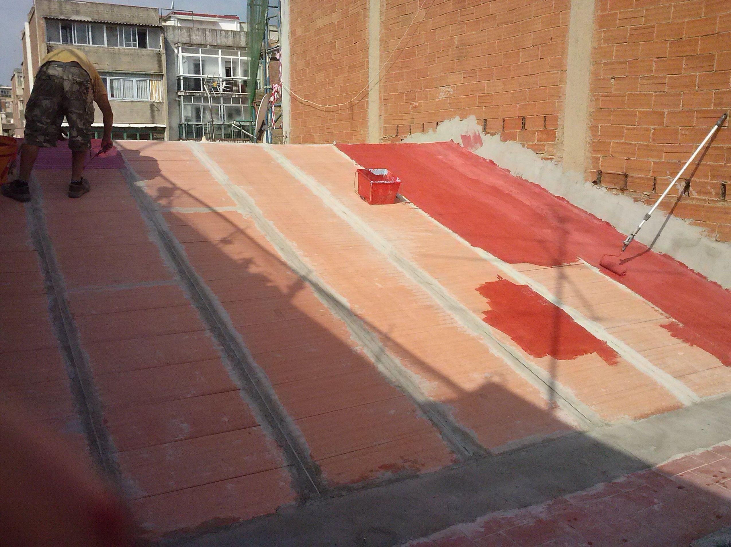 Rehabilitación de tejados y cubiertas en Cornellà