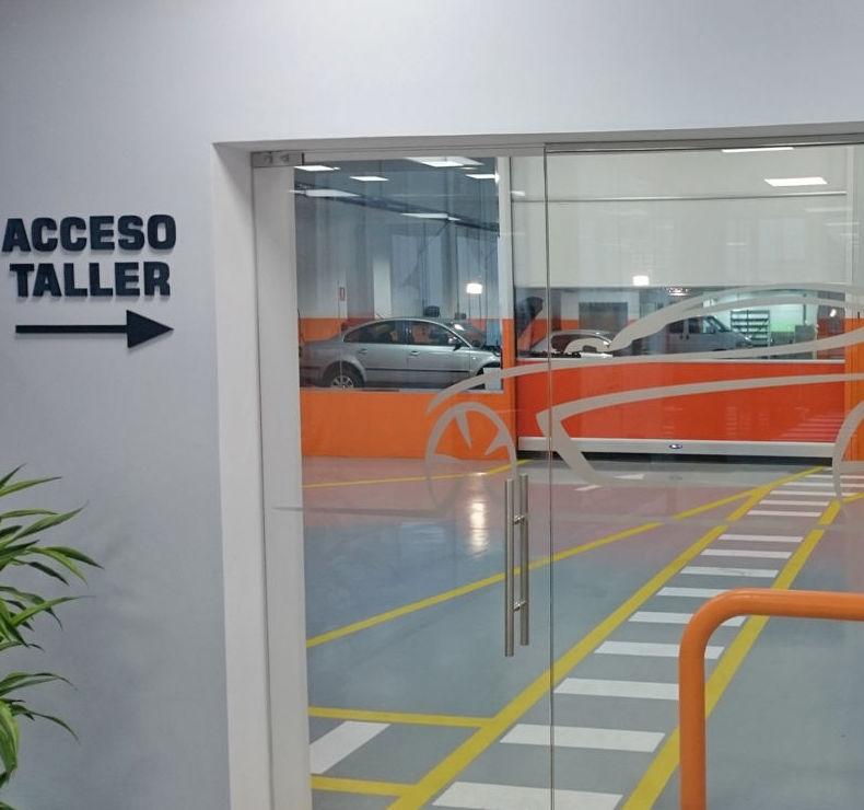 Acceso a taller en Leganés