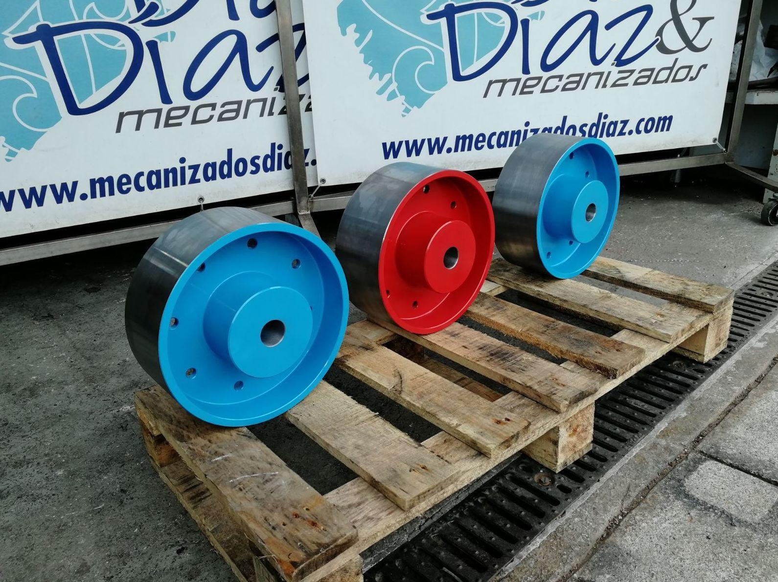 Mecanizados industriales en Gijón, Díaz & Diaz