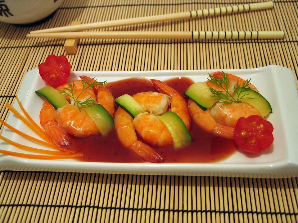 Mariscos y pescados: Carta y menús de May Sun