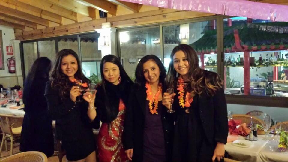 Comida asiática. Celebraciones